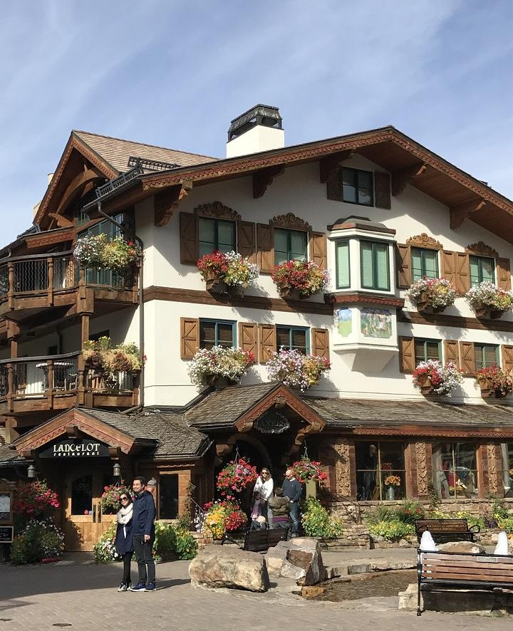 Vail village Scandinavian feeling
