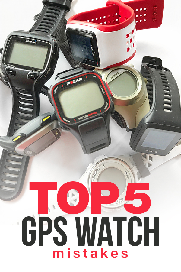 Top 5 GPS Watch Mistakes and Best GPS Running Watch Recommendations