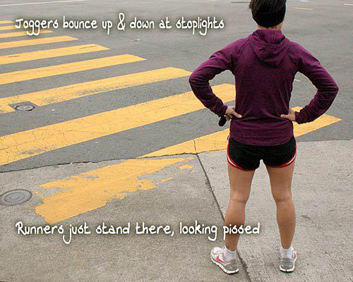 I am not a jogger