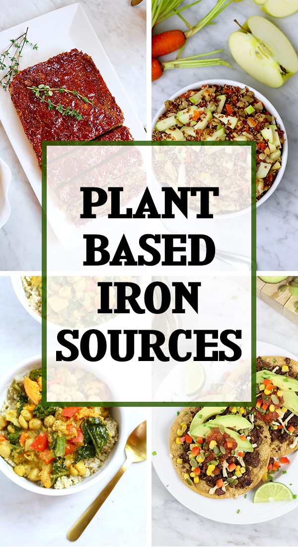 Plant-Based Iron Sources to improve iron deficiency runners often experience