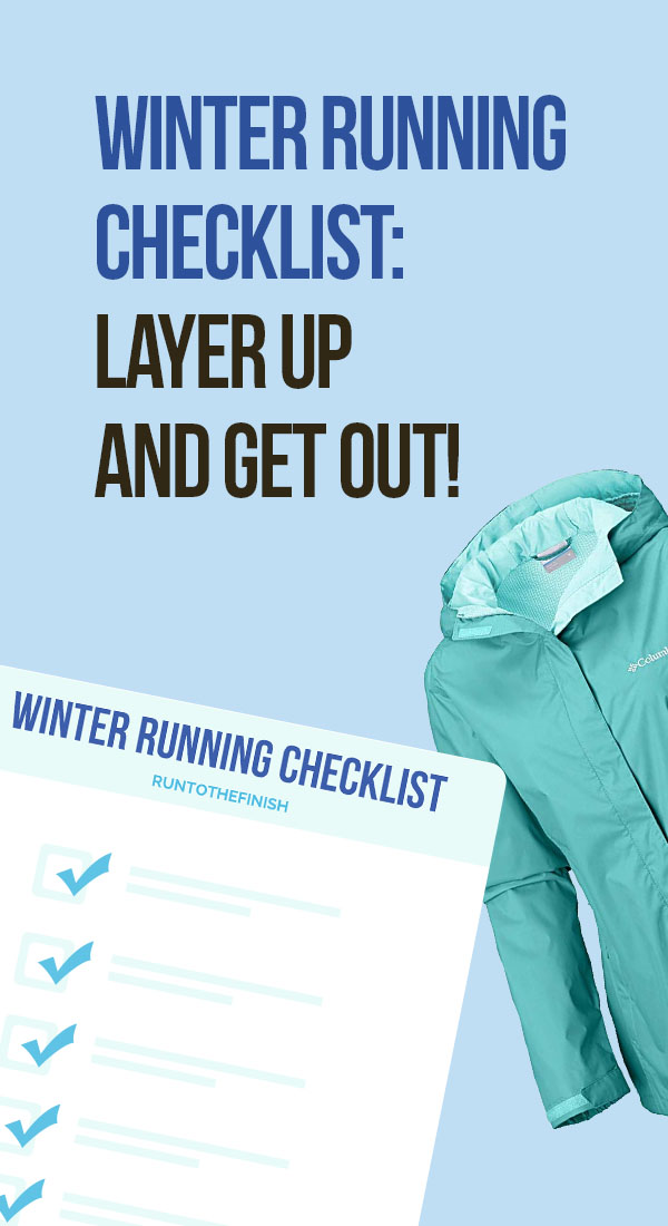 winter running checklist