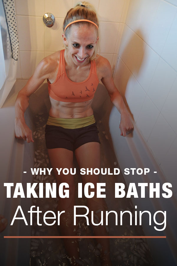 runner ice bath
