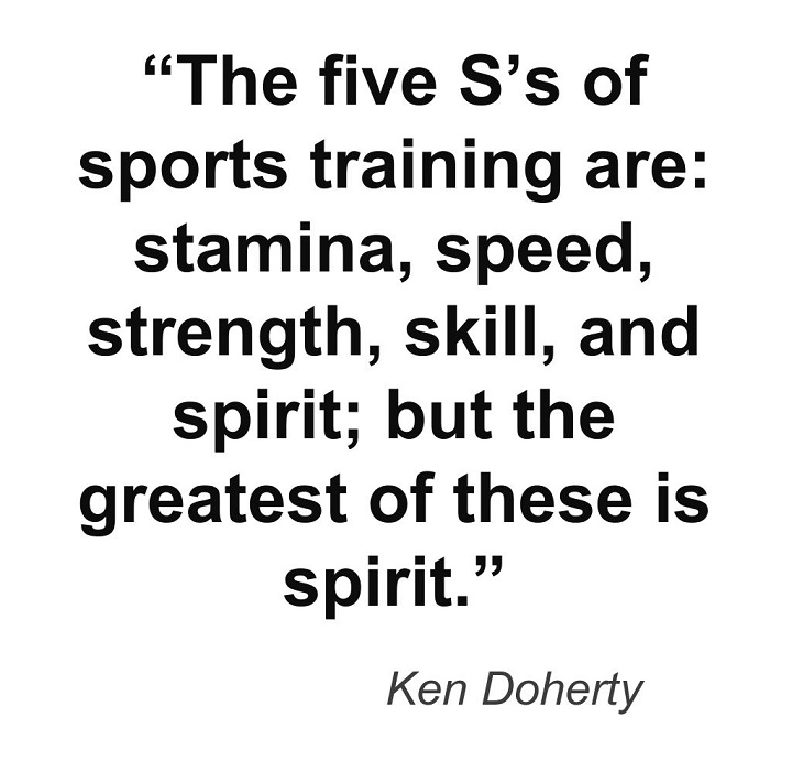 speed training quote