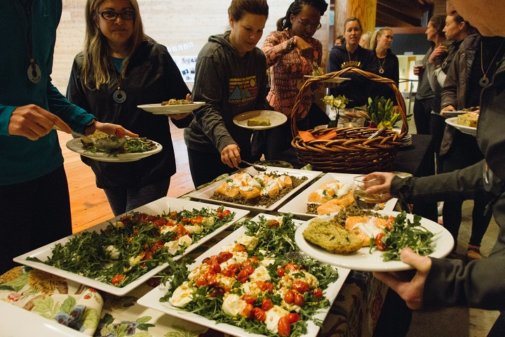 Delicious organic meals