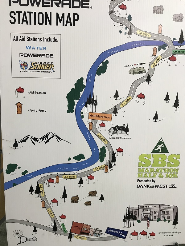 Steamboat marathon aid stations map