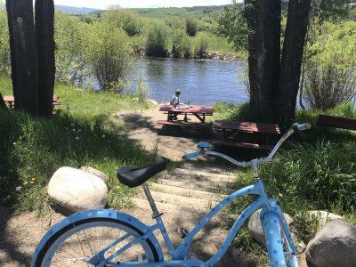 Yampa River Biking