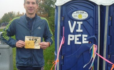 7 Hilarious Porta-Potty Stories Only Runners Will Understand