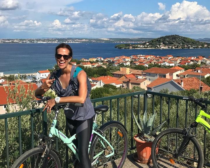 Biking in Zadar croatia