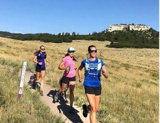 group trail run