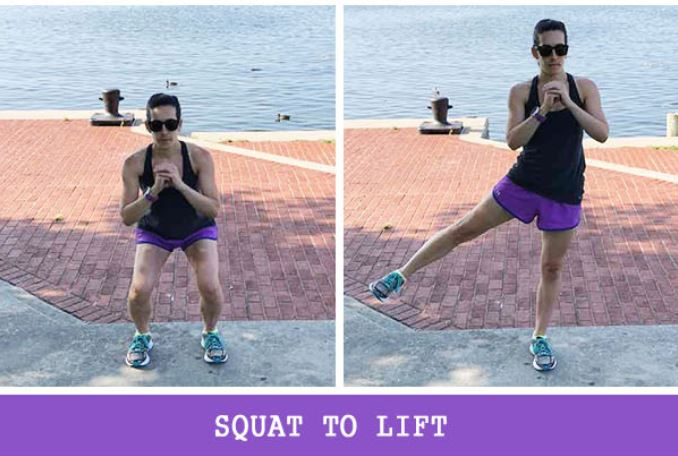 Squat to lift