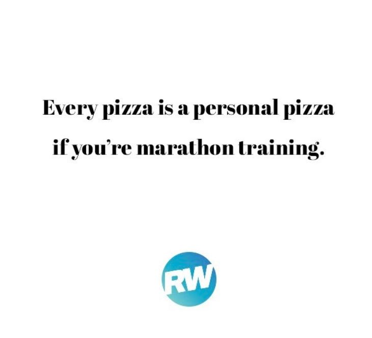 running pizza