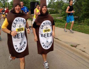 running costume