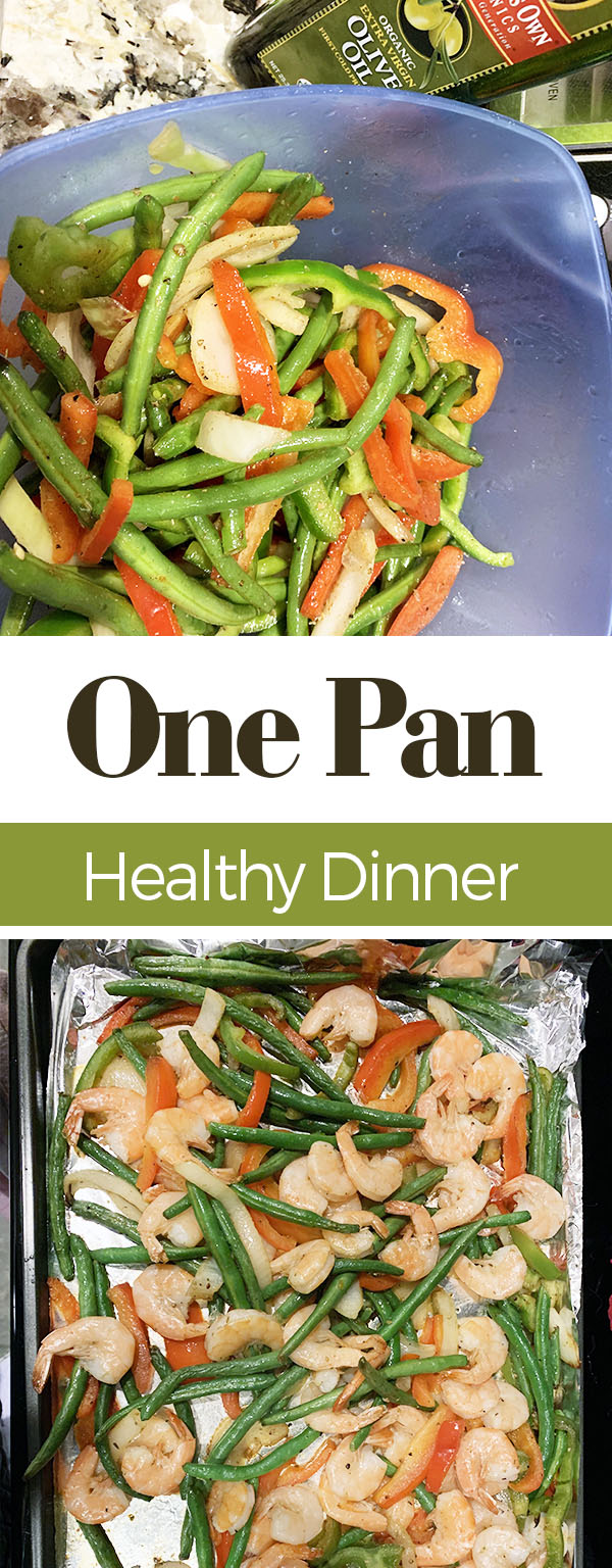 One Pan Healthy Dinner