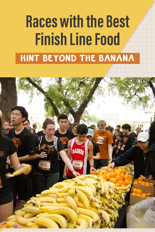 finish line food