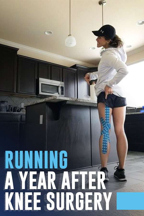 running after knee surgery