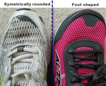 altra running toe box