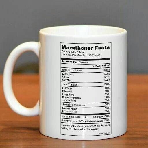 funny runner mug