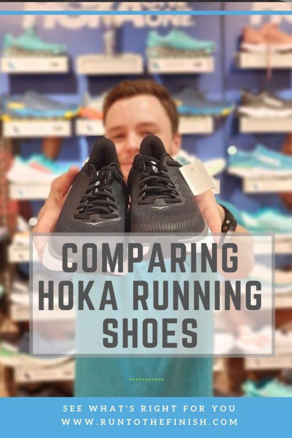Comparing Hoka Running Shoes