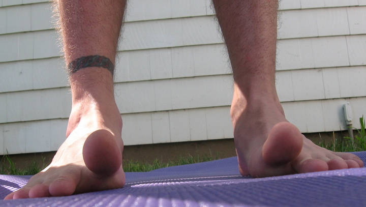 toe stretches