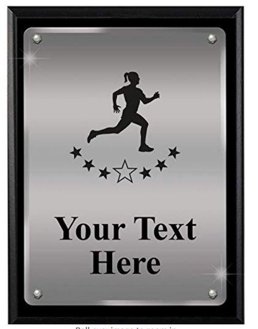 runner plaque