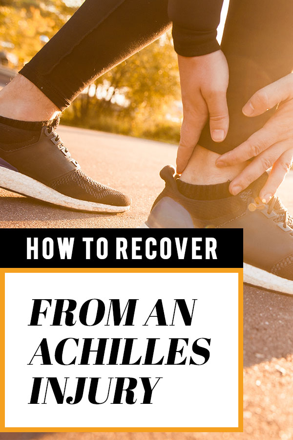 achilles pain running