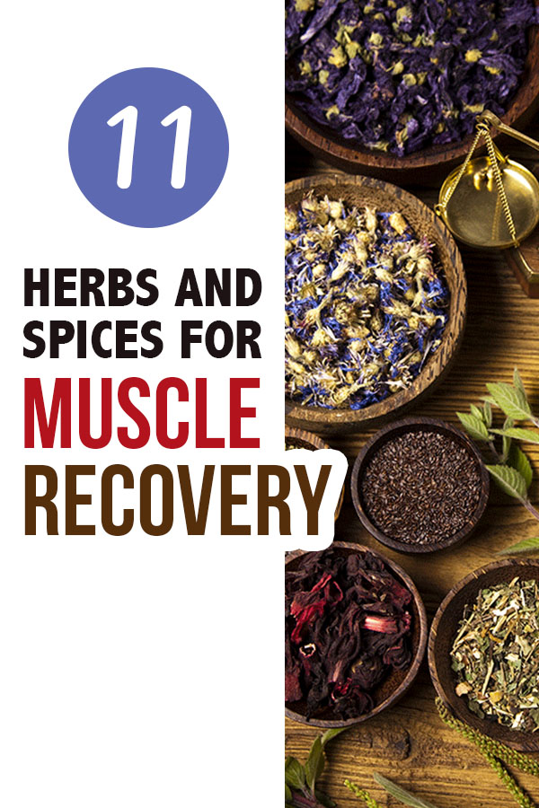 herbs for muscle recovery