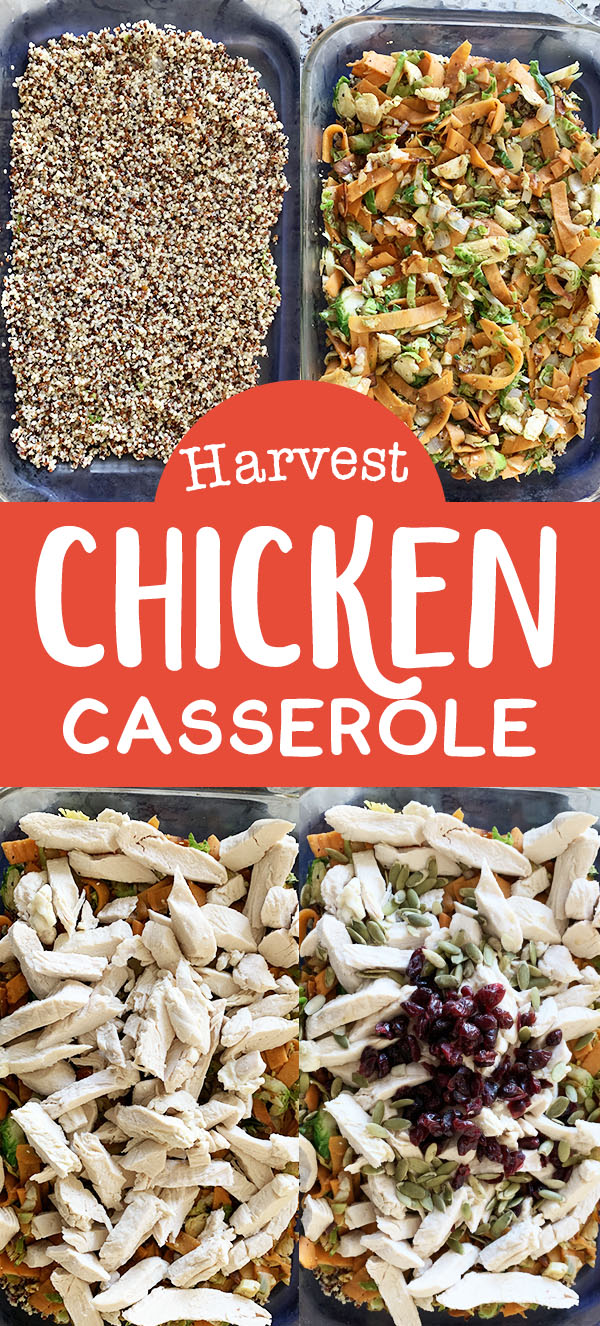 Healthy Chicken Casserole