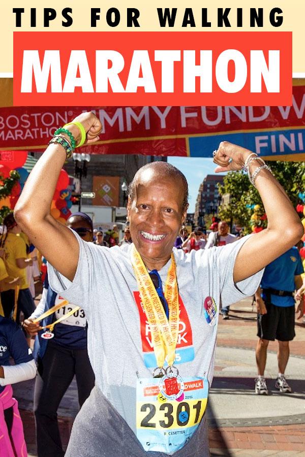 walker friendly marathon