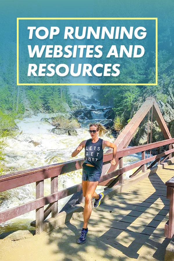 top running websites