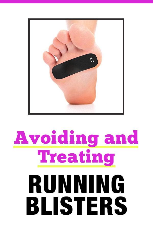 running blisters