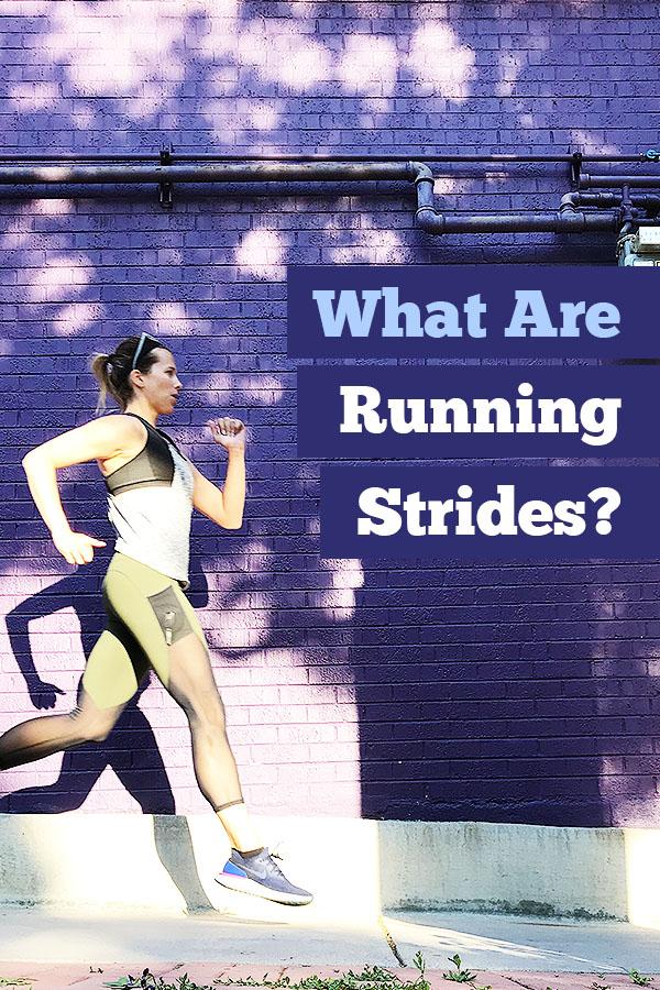 running strides
