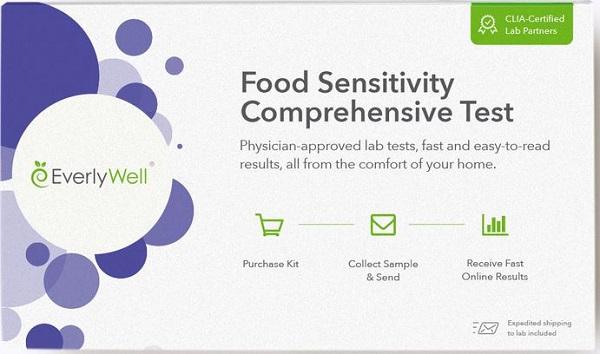 Food sensitivity test discount