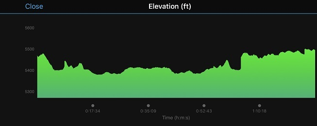 running elevation
