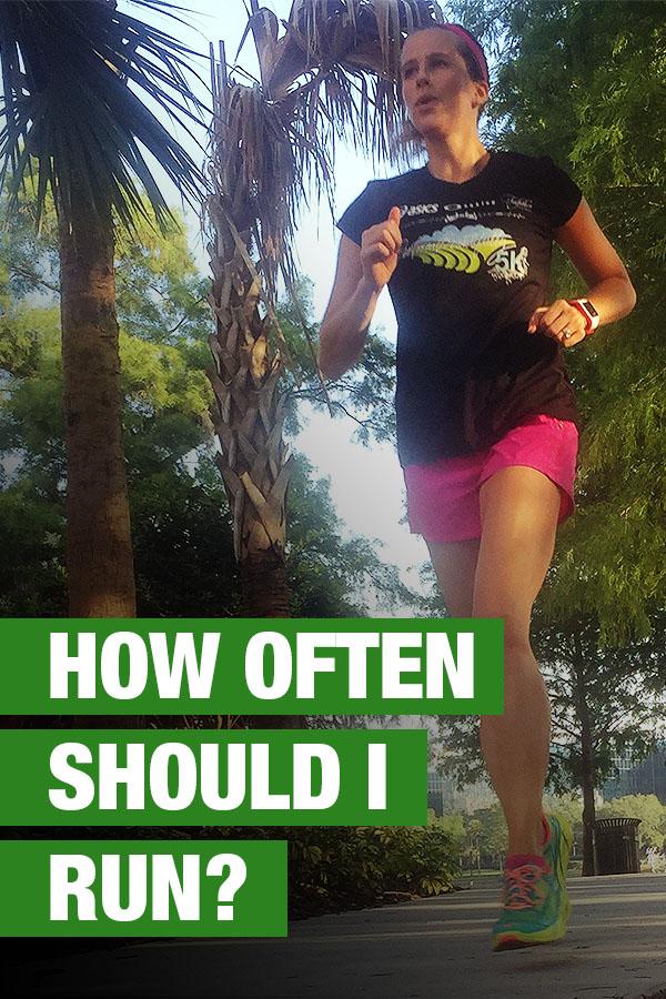 How Often Should I Run?