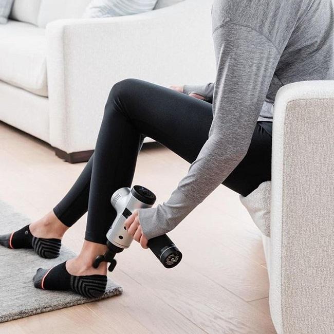 massage gun legs