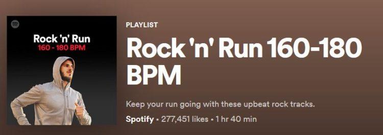 180 BPM Playlist