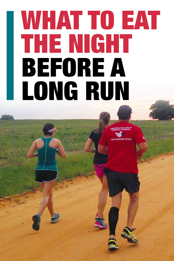 eat before long run
