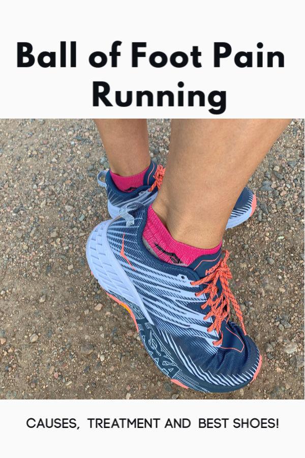 Ball of Foot Pain Running