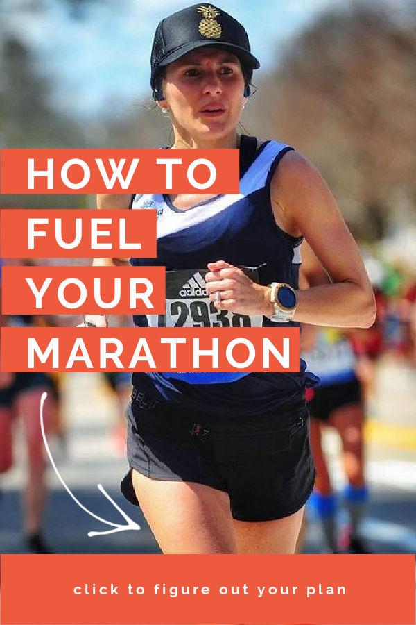 que comer durante un maratón