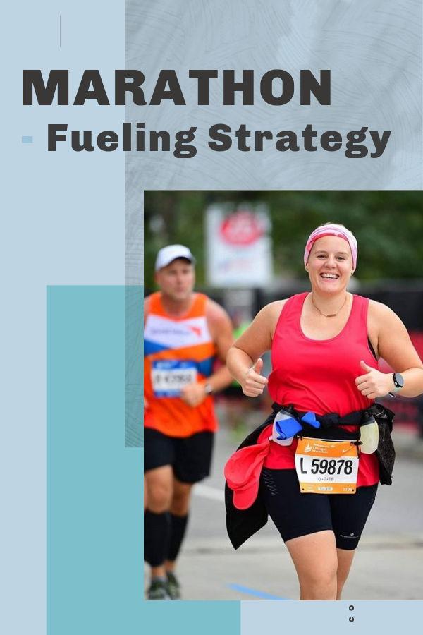 Plan de alimentación de maratón