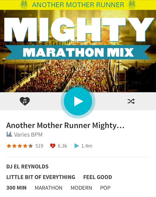 lista de reproducción de maratón