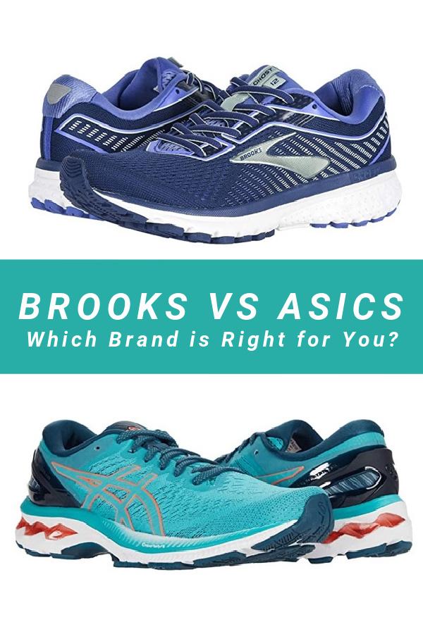Brooks Vs Asics