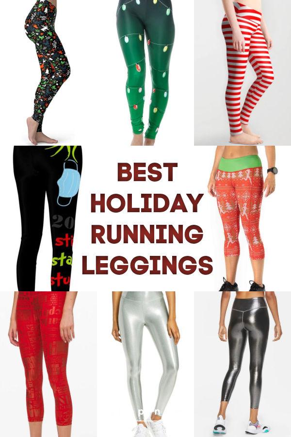 Christmas Running Leggings