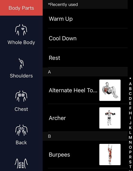 Coros App Workouts
