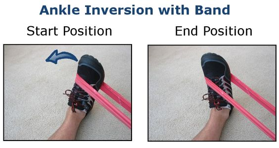 Exercises for posterior tibial tendonitis