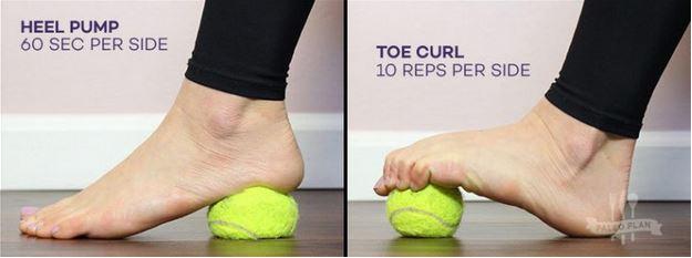 foot strength exercies