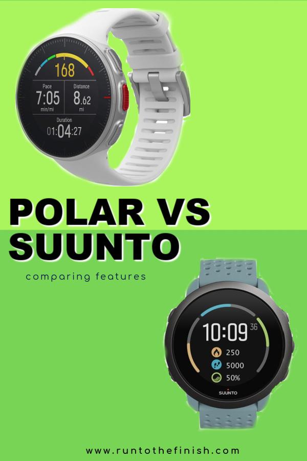 Polar vs Suunto vs Garmin