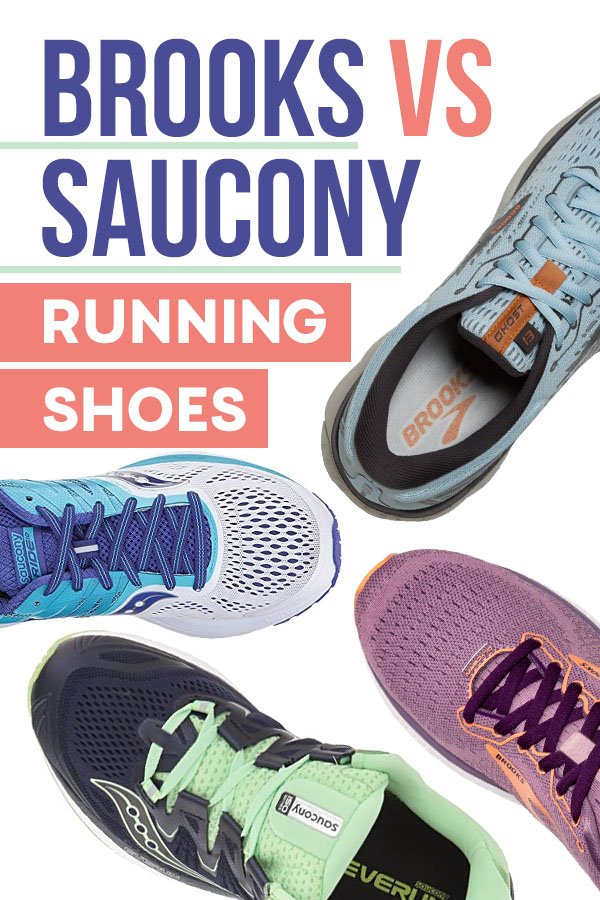 Brooks Vs Saucony Running Shoes