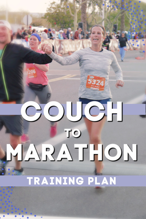 Couch to Marathon Training Plan
