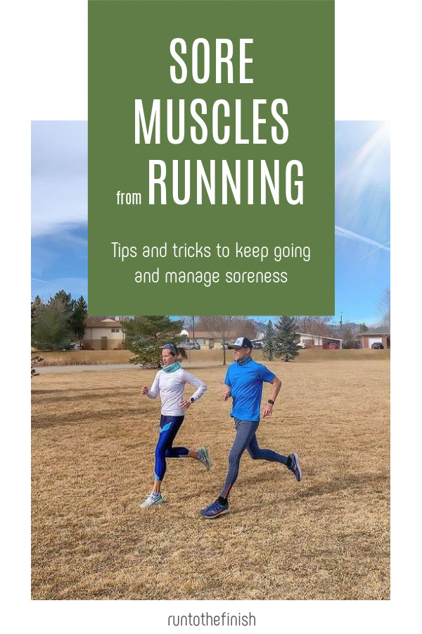 Sore Muscles from Running